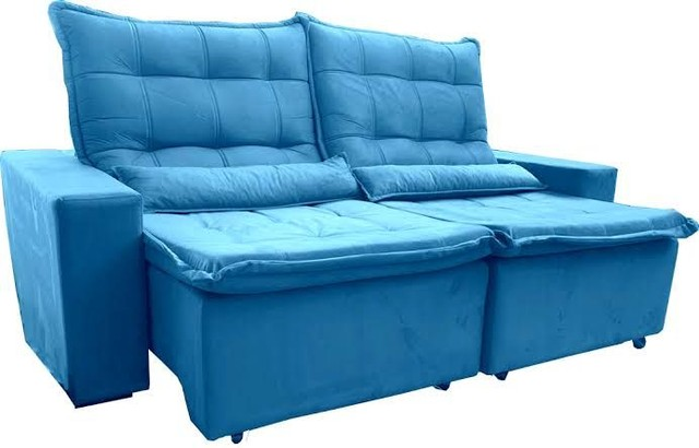 Lindo sofá retrátil - Foto 2