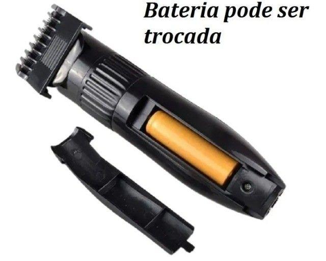 Kit Aparador De Cabelo Barba Cabelo Bigode Peito Axila- Bivolt - Foto 2