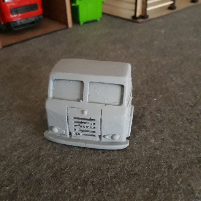 Cabines em resina miniatura escala 1/32 fnm