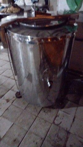 Máquina de torcer industrial para lavanderia industrial 30 kg 15 mil - Foto 4