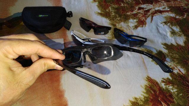 Óculos de Esporte e Ciclismo Polarizado - Foto 3