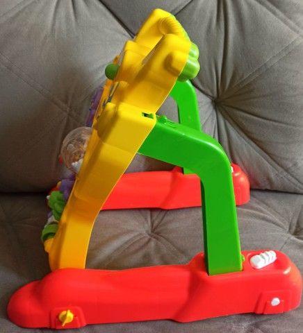 Andador Andador Infantil Para Bebê Educativo 2 Em 1 Menino E Menina - Foto 2