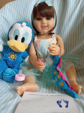 Lindas bonecas tipo reborm realista NOVAS  - Foto 5