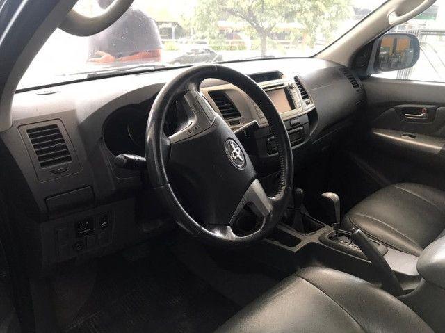 Toyota Hilux SRV 4x4 Diesel Automatico 2012 - Foto 6
