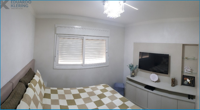Apartamento Alto Padrão, 3 dormitórios, 2 banheiros, sacada, churrasqueira, Esteio - Foto 15