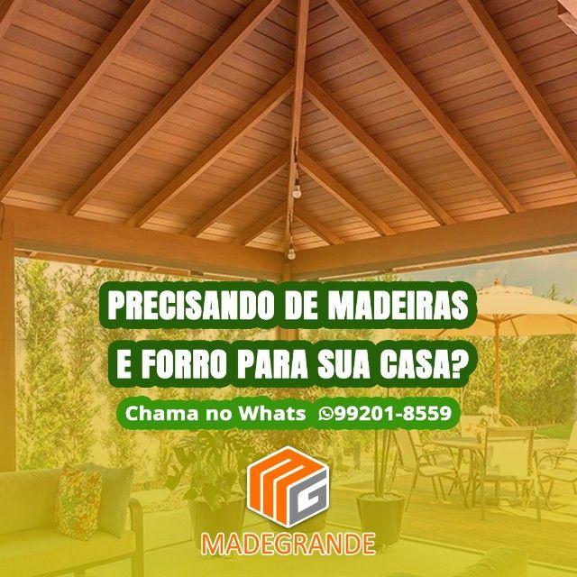 Promoção Cadeira de Madeira Maciça Nova - Foto 2