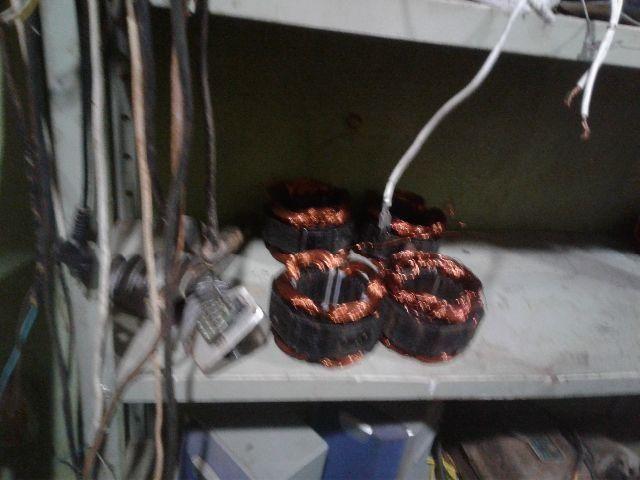 Bobinas de motor de lavadoras