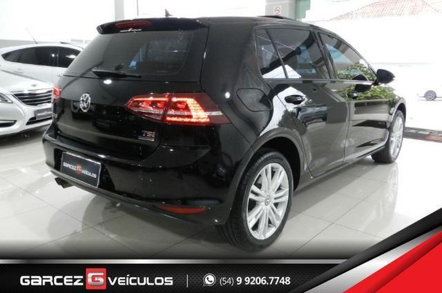 Vw - Volkswagen Golf Highline 1.4 Turbo Único Dono Com Teto Solar Rodas 17 Alemão - Foto 4