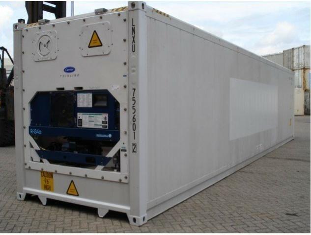 Câmara Fria de 12 metros em Container!