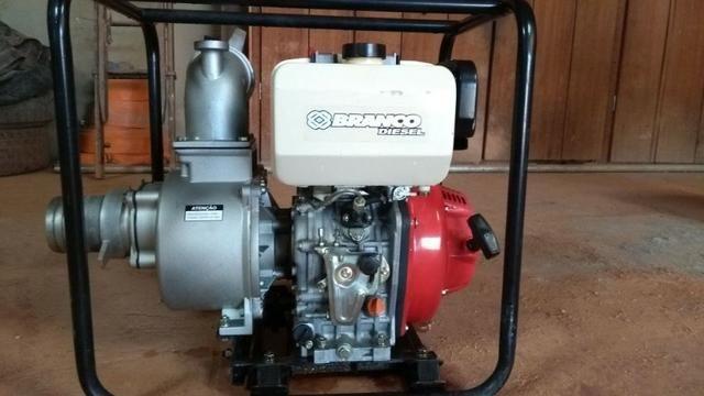 Motobomba Branco Diesel 4 polegadas