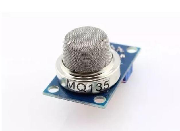 COD-AM232 Sensor De Gás Mq-135 Mq135 Amônia Ó. Nítrico Álcool Arduino Automação Robot