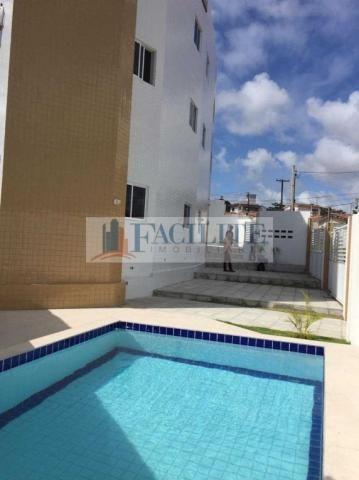 2837 - Apartamento para vender, Castelo Branco, João Pessoa, PB - Foto 3