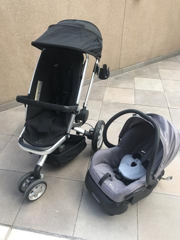 a998e1a581 Carrinho de Bebê Quinny Buzz com Bebê conforto