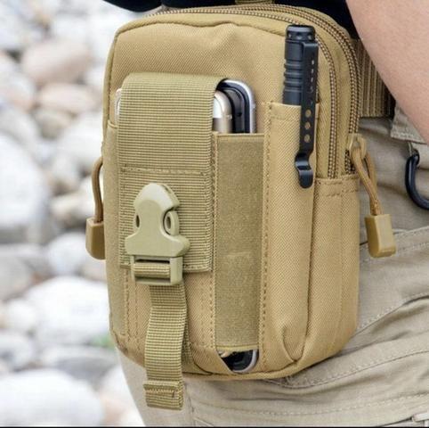 Saco case Molle Cintura Quadril Cinto Carteira Bolsa,Phone Case Bolsa - Foto 2