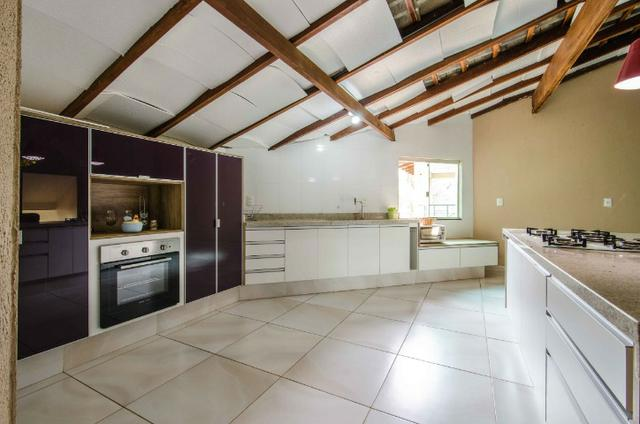 Bela casa no Park Way quadra 8 com 4 suítes + Loft com 2 quartos - SMPW 8 - Foto 15