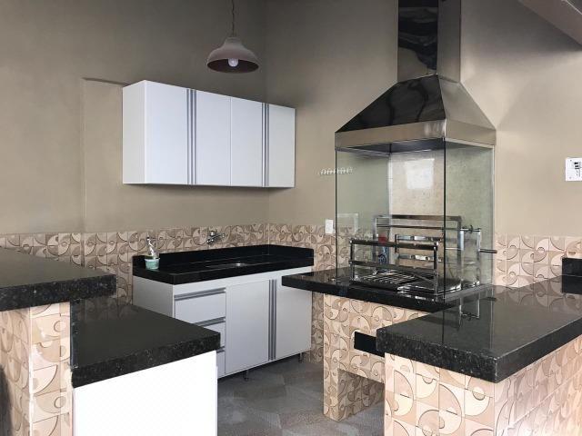 Casa sobrado novo desocupado 4 Suites Guara II - Foto 16