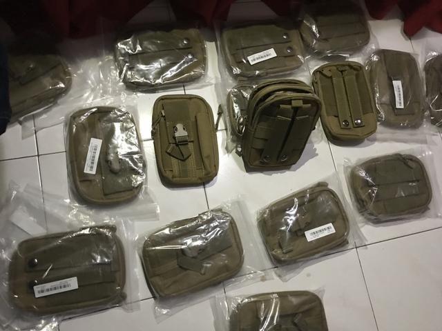 Saco case Molle Cintura Quadril Cinto Carteira Bolsa,Phone Case Bolsa - Foto 3