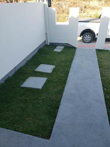 Linda Casa Geminada No Lot. Jardins 2 - Com Churrasqueira e Excelente Acabamento - Foto 10
