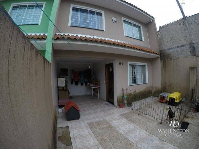 Sobrado com 3 dormitórios à venda, 84 m² por r$ 280.000 - costeira - são josé dos pinhais/ - Foto 2