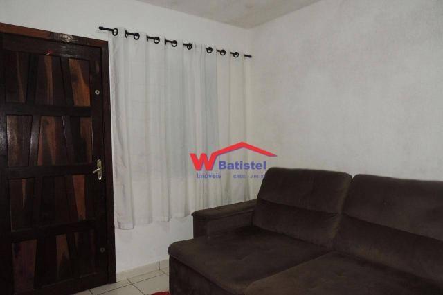 Casa com 3 dormitórios à venda, 50 m² por r$ 198.000 - rua jaguariaíva nº 288 - vila são j - Foto 3