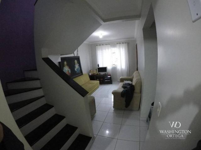 Sobrado com 3 dormitórios à venda, 84 m² por r$ 280.000 - costeira - são josé dos pinhais/ - Foto 4