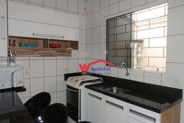 Casa com 3 dormitórios à venda, 50 m² por r$ 198.000 - rua jaguariaíva nº 288 - vila são j - Foto 5