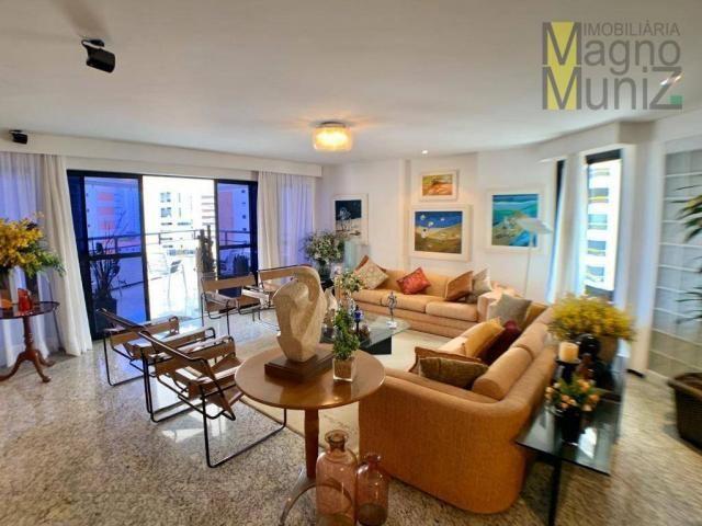 Apartamento de alto padrão à venda, 253 m² por r$ 1.650.000 - meireles - fortaleza/ce - Foto 4