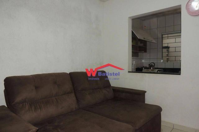 Casa com 3 dormitórios à venda, 50 m² por r$ 198.000 - rua jaguariaíva nº 288 - vila são j - Foto 2
