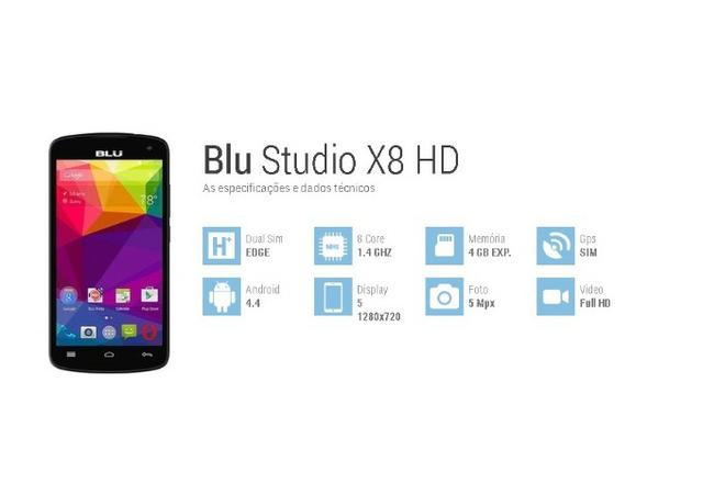 SmartPhone Marca BLU, Modelo HD X8 S530 - Foto 6