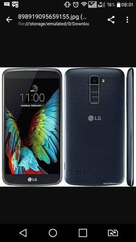 LG k10 estado de novo