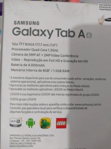 "Samsung Galaxy Tab A6 Android 7.0""|8GB¹|Wi-Fi - Foto 3"