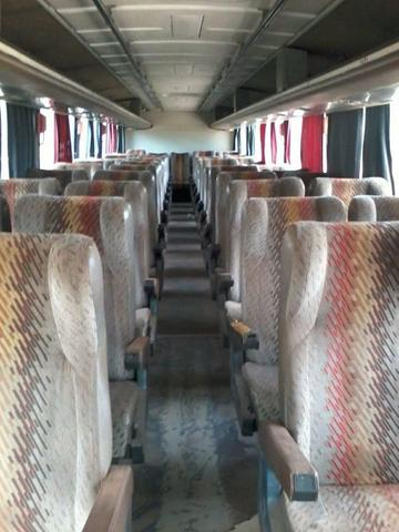 Bancada ônibus volvo 50 lugares