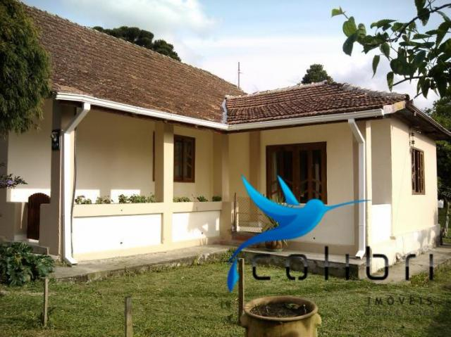 Chácara com casa histórica em agudos do sul - Foto 2