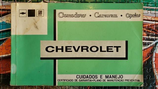 Opala coupé 1976 Segundo dono - Foto 19