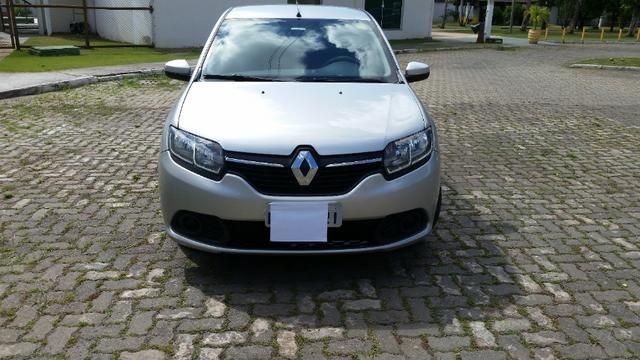 Renault sandero 1.0 2015/2015 único dono - Foto 4