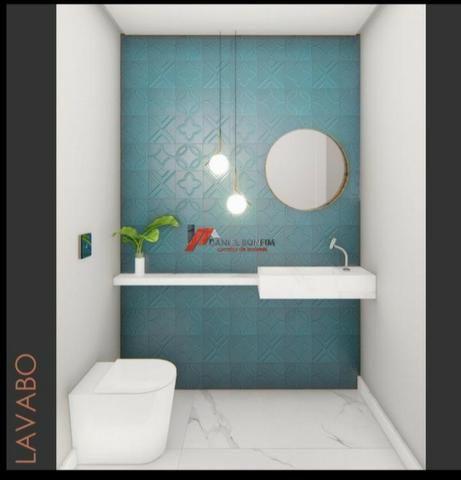 Casa de luxo em construção no Lagoa Santa com 04 quartos sendo ( 03 suítes) - Foto 3