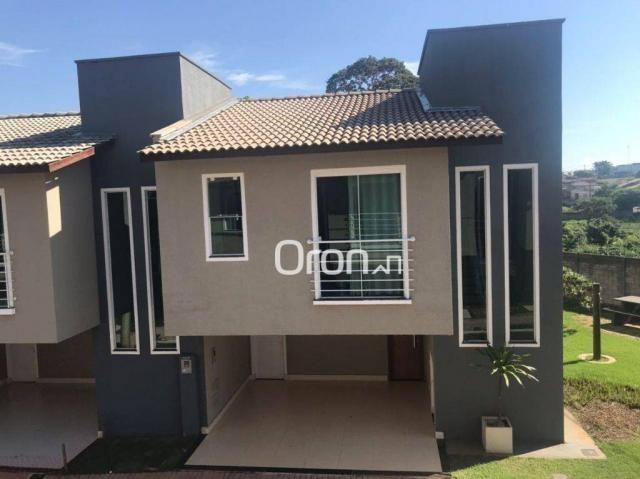 Sobrado à venda, 131 m² por r$ 440.000,00 - residencial center ville - goiânia/go