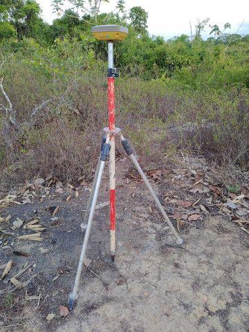 Seminovo Receptor GNSS Topcon Hiper SR L1L2 GPS top - Foto 2