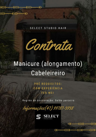 CONTRATA SELECT STUDIO HAIR