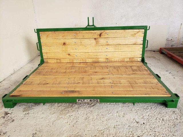 Plataforma Traseira Agrícola - PLT 600 - Foto 6