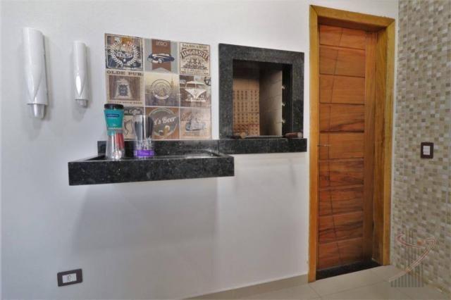 Casa com 3 dormitórios para alugar, 90 m² por R$ 3.100,00/mês - Beverly Falls Park - Foz d - Foto 5
