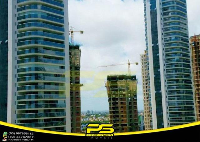 Oportunidade, apartamento p/alugar, 04 suítes, piscina, 05 vagas, 332,75m², por apenas R$  - Foto 14
