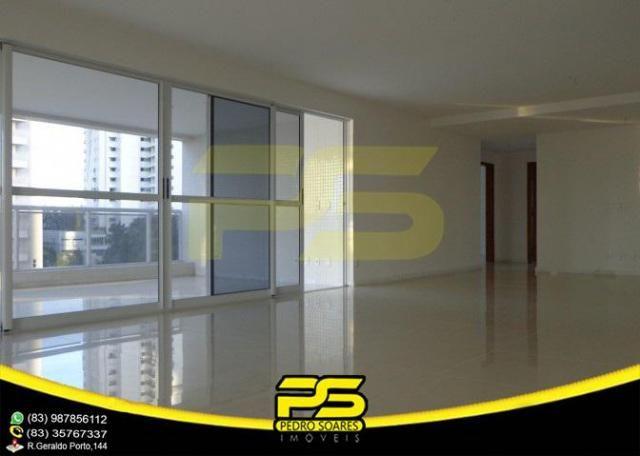 Oportunidade, apartamento p/alugar, 04 suítes, piscina, 05 vagas, 332,75m², por apenas R$  - Foto 6