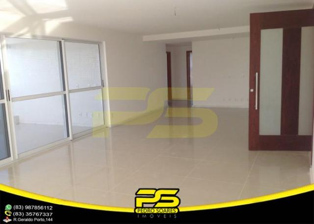 Oportunidade, apartamento p/alugar, 04 suítes, piscina, 05 vagas, 332,75m², por apenas R$  - Foto 8