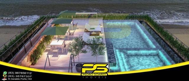 Oportunidade, apartamento, 02 suítes, piscina, 53,77m², por apenas R$ 389.563,65, em Bessa - Foto 3