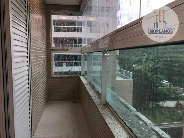 Belíssimo apartamento com 3 dormitórios à venda, 124 m² por R$ 837.585 - Canto do Forte -  - Foto 14
