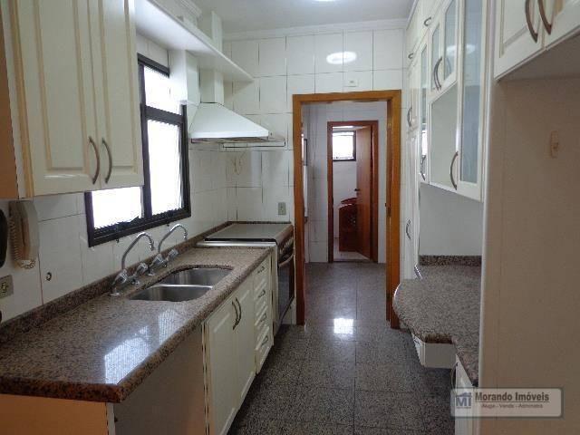 Apartamento com 4 dormitórios para alugar, 176 m² por R$ 3.100,00/mês - Vila Suzana - São