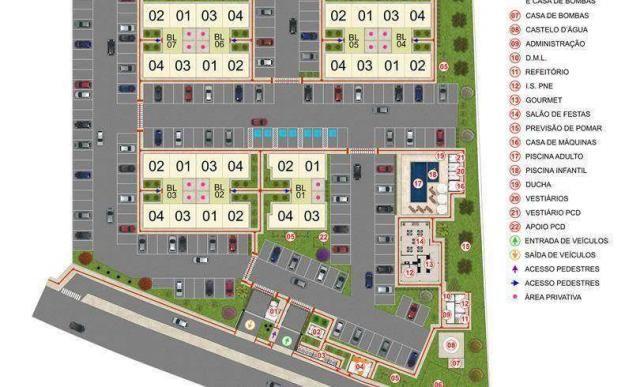 Residencial Império La Castelle - Apartamento de 2 quartos em Itu, SP - ID4025 - Foto 7