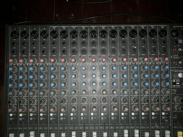 Mesa de som 16 canais - Foto 3