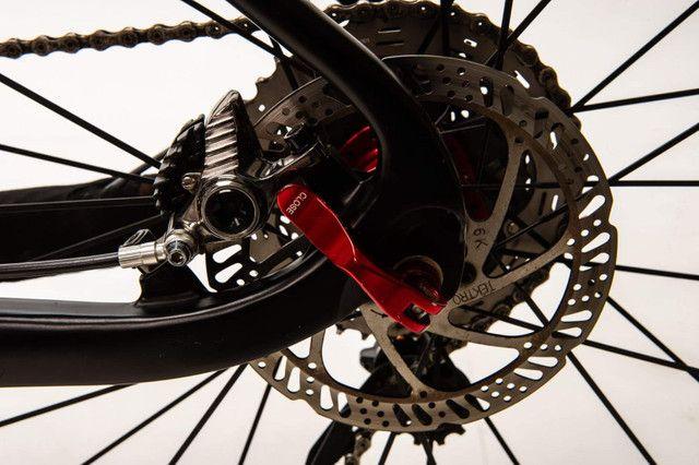 Bike carbono, aro 29 Tam 27,5 - Foto 3